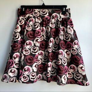 NEW  flower print skirts